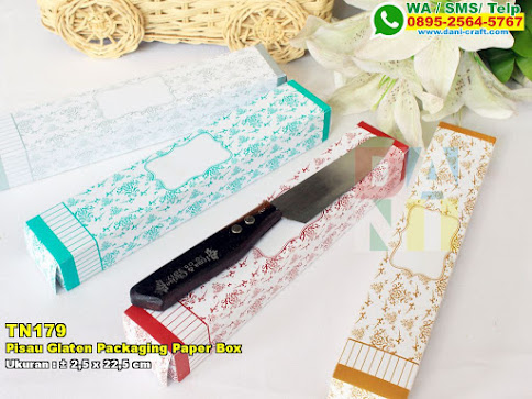 Pisau Glaten Packaging Paper Box