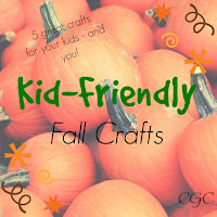 Kid Friendly Fall Crafts