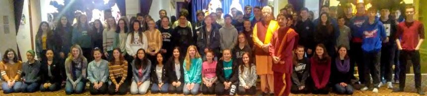 Students visit temple to learn about Hinduism