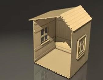 Cara Membuat Rumah Dari Stik Es Krim Bekas Dengan Mudah Dunia Hq