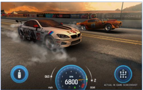 Game Drag Racing Nitro Nation MOD APK