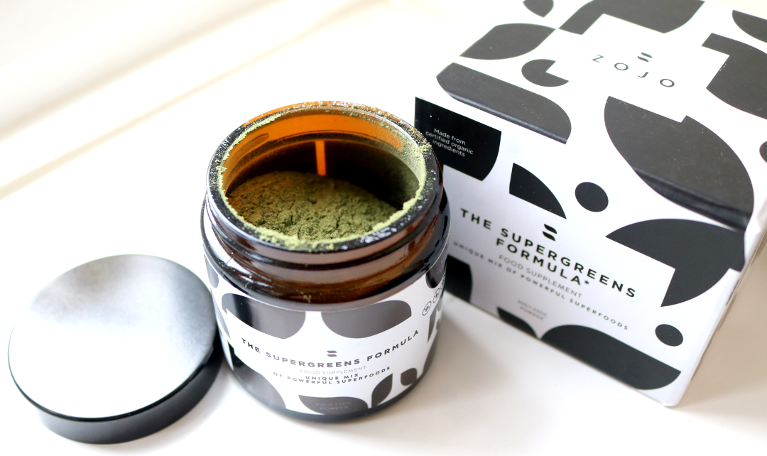 ZOJO Beauty Elixirs - The Supergreens Formula review