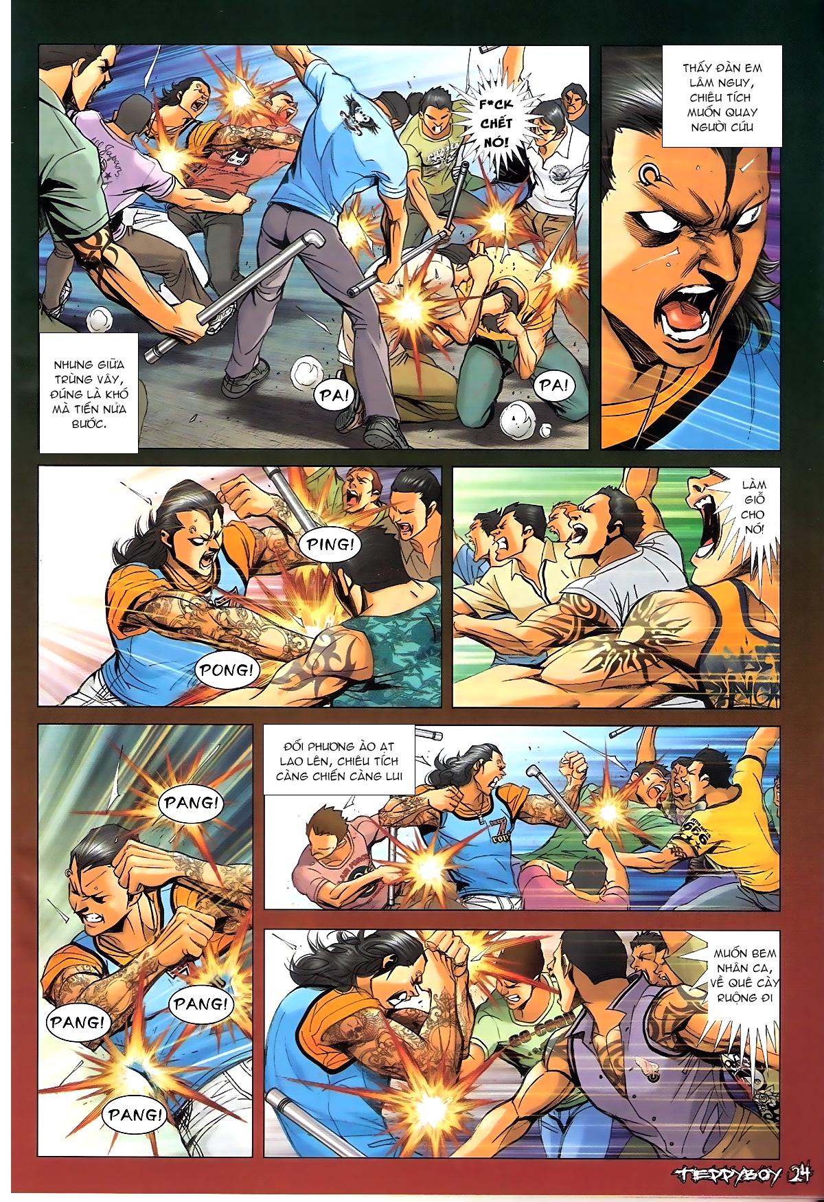 Người Trong Giang Hồ NetTruyen chap 1338 - Trang 21