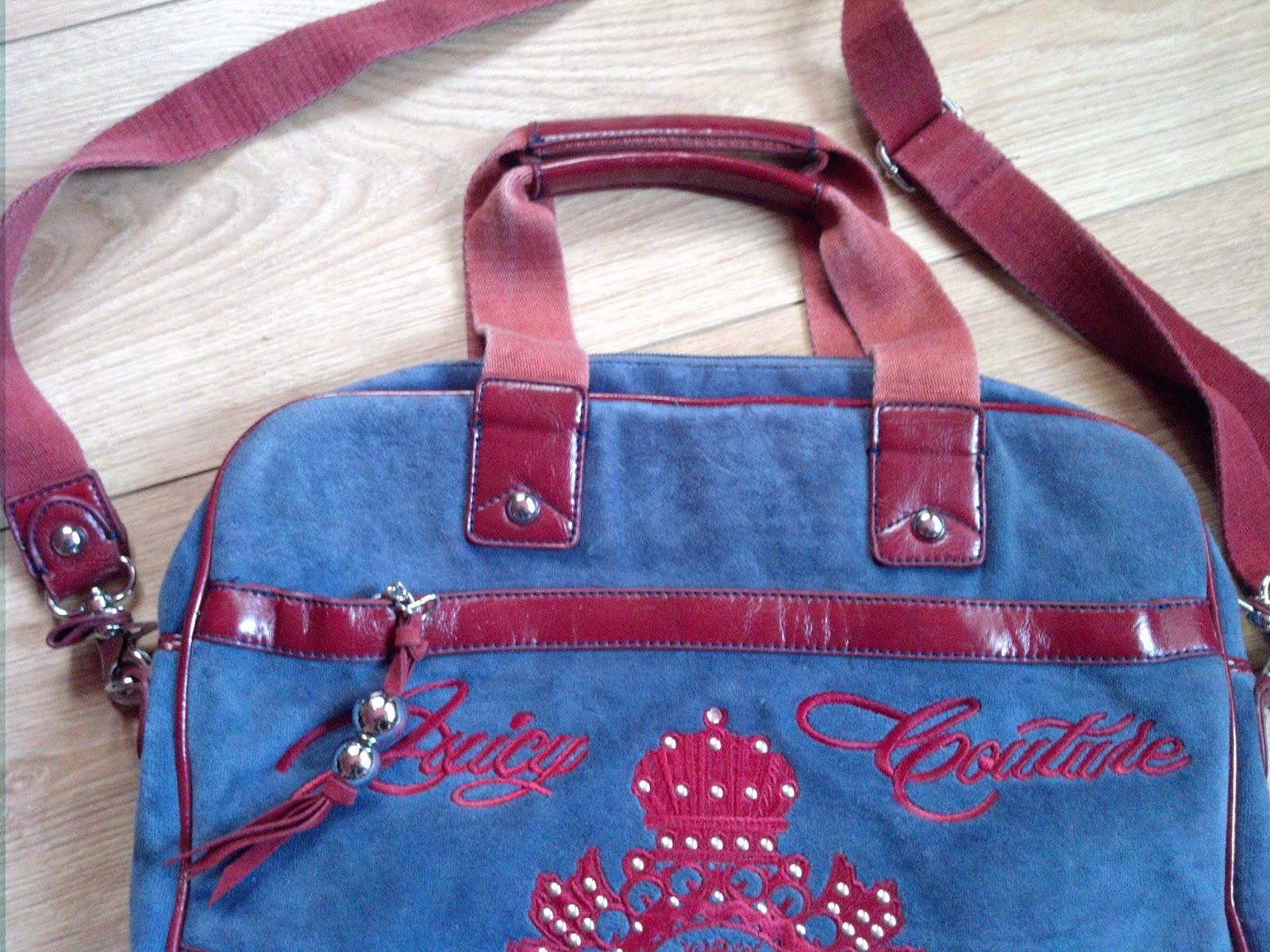 a6d8b6de09ba Сумка Juicy Couture (Оригинал), она же мультисумка или сумка для ноутбука с  множеством отделений! Состояние очень хорошее. Из велюра и кожзама!