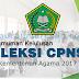 Pengumuman Hasil Akhir Kelulusan Seleksi CPNS Kementerian Agama 2017