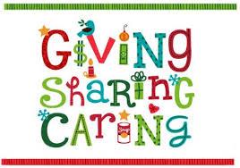 Giving Sharing Caring