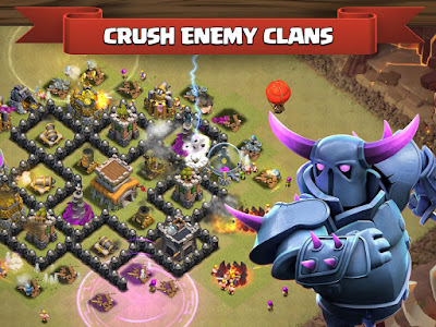 Clash of Clans Apk v8.116.11 Mod Money For Android