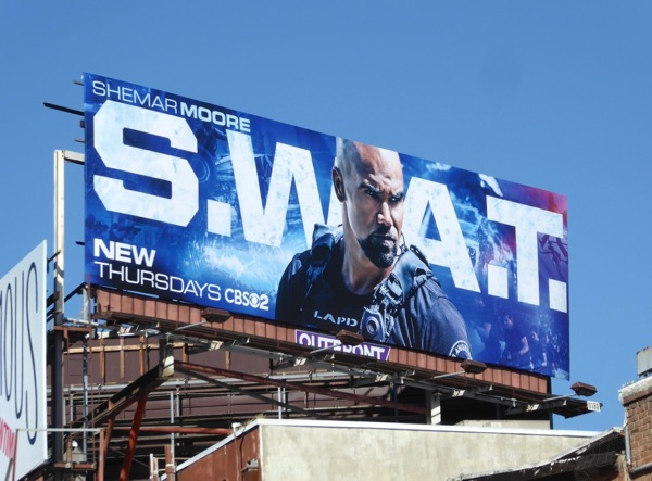 SWAT TV remake billboard