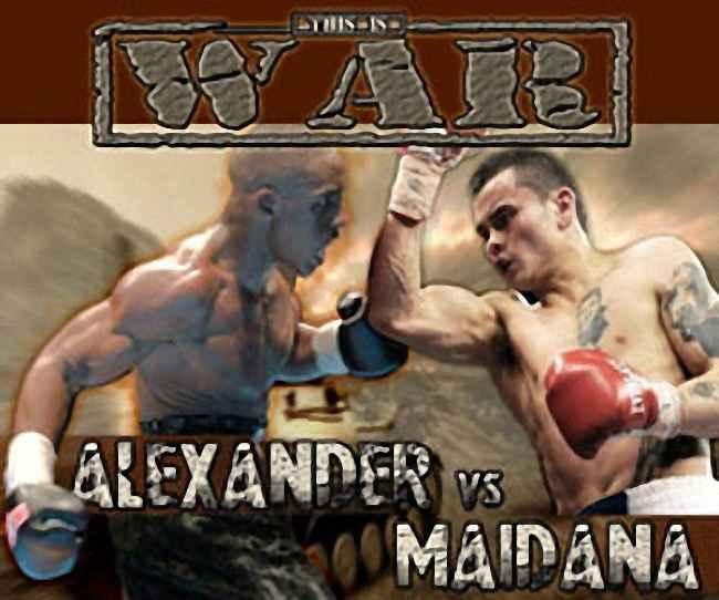 BOXEO HOY : BOX TODAY: CHINO MAIDANA Vs DEVON ALEXANDER
