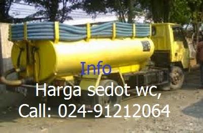 Harga Sedot WC  dan Pembuatan Septick Tank di Semarang