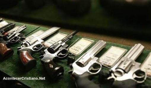 Compran armas usadas para disminuir violencia