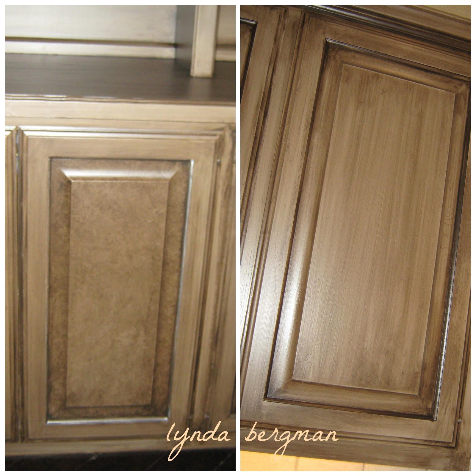 Faux Paint Kitchen Cabinets: LYNDA BERGMAN DECORATIVE ARTISAN: PAINTING STEPHANIE'S