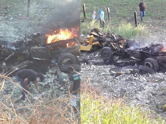 Bandidos explodem carro forte na Serra do Marçal em Vitória da Conquista