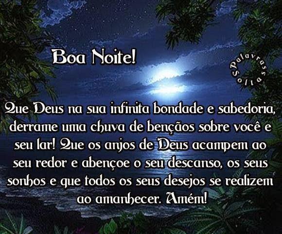 """Mimos De Boa Noite: Palavras Soltas: """"Boa Noite!"""""""