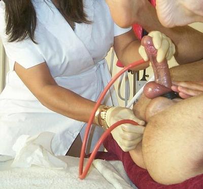 submissive male enema