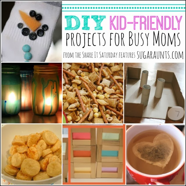 DIY Kid Friendly Projects for Busy Moms