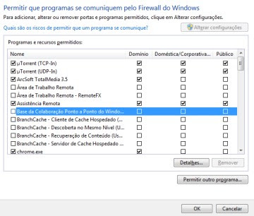 Firewall do windows