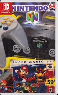 Nintendo%2B64%2Bswitch - Nintendo 64: Super Mario 64 + Legend of Zelda Switch NSP