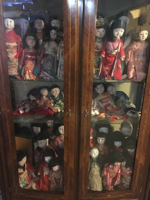 怖い日本人形