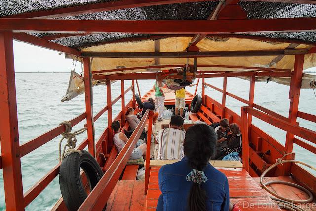 De Sihanoukville à Koh Rong - Cambodge