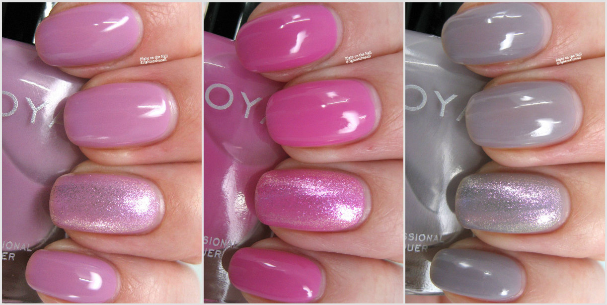 Right on the Nail: Zoya 2017 Kisses Pastel Jellies Trio Swatches and ...