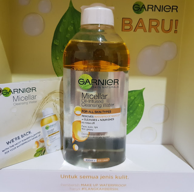Garnier micellar oil