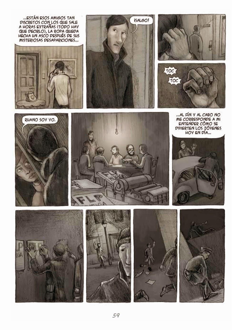 Recuerdos de Perrito de Mierda # 59 by Marta Alonso Berna, Dibbuks, March, 2014