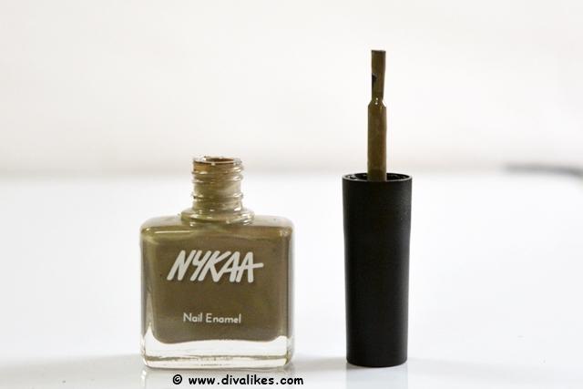 Nykaa Nude Nail Enamel Earl Grey Tea Cake