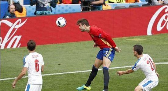 Euro2016, higlights e pagelle SPAGNA - REPUBBLICA CECA 1-0: Pique e Iniesta salvano una Spagna in difficoltà. A cura di S.Sorce