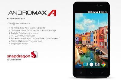 Cara Screenshot Smartfren Andromax A 4G LTE