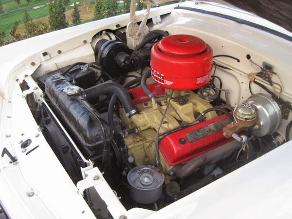 Ford Crestline Sunliner Engine