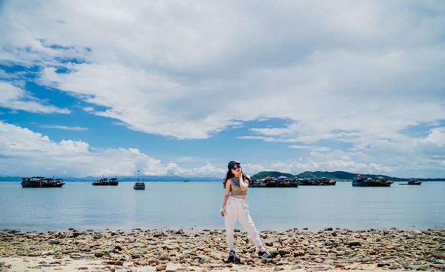 Kinh nghiệm du lịch đảo Cái Chiên Quảng Ninh: Chi tiết lịch trình phượt A-Z