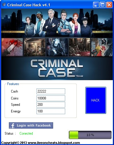 Hack & Cheats : Criminal Case Hack