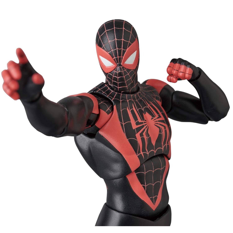 Movie Shopper's Guide - Spiderman : Miles Morales Action Figure : アフロヒスパニックのスパイダーマン、マイルズ・モラレスのフィギュアが、新年2019年夏の終わりの8月31日に発売 ! !