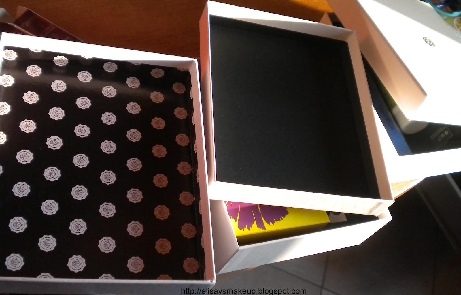 Mini Cassettiera Fai Da Te elisa vs make-up: riutilizzare le glossybox per creare una