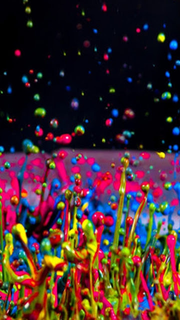 Hình nền 3D màu sắc đẹp cho iPhone 7 Plus