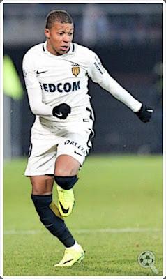 Mbappé Monaco second jersey