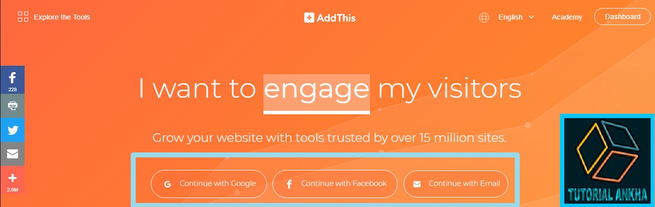 Cara Baru dan Keren Membuat tombol Share Melayang di Blog