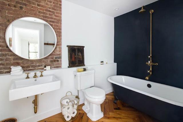 un mix alegre en blanco y negro para un apartamento en el  East Village chicanddeco