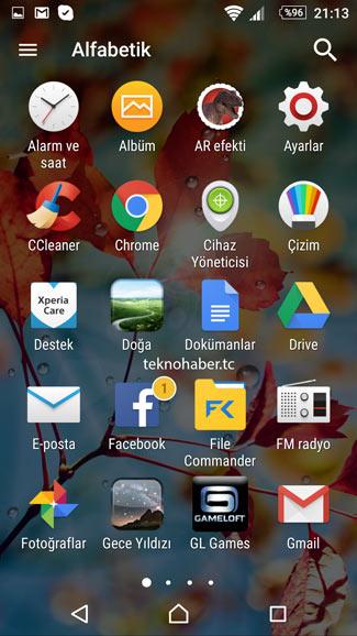 android büyük simge boyutu