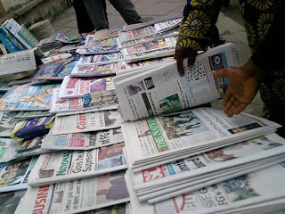 Latest Nigeria Newspapers Headlines for Today, Monday, June 26, 2017