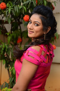Ashmita in Pink Top At Om Namo Venkatesaya Press MeetAt Om Namo Venkatesaya Press Meet (15).JPG