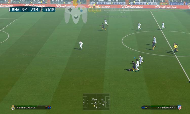 تحميل لعبة بيس 2017 PES مضغوطة بحجم صغير من ميديا فاير