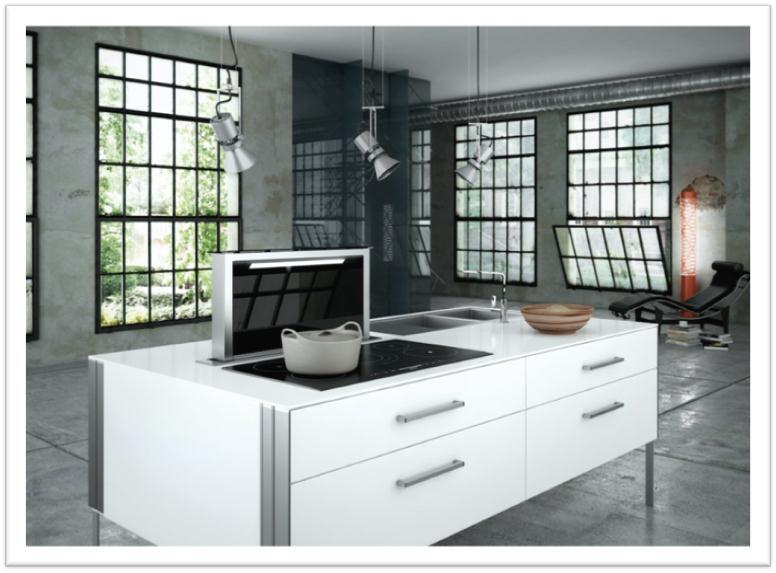 Arredo e design faber fabula cappa a scomparsa che rinnova il piano cottura - Foro areazione cucina ...