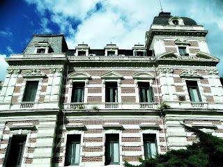 Lateral da Casa de Gobierno de La Provincia, La Plata, Argentina
