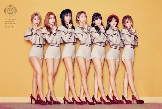 AOA came back with their first