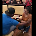 Videos: Lady propses to her boyfreind of six years... and he said yes!