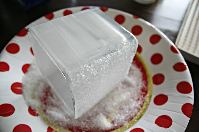 epsom salt glass candles