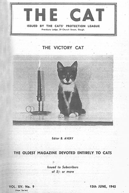 The Cat magazine June 1945