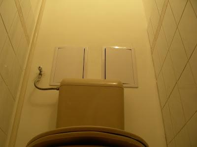 WC hátfal Budapest